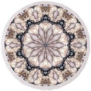 Kaleidoscope 21 Round Beach Towel