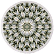 Kaleidoscope 28 Round Beach Towel