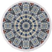 Kaleidoscope 29 Round Beach Towel
