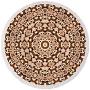 Kaleidoscope 30 Round Beach Towel