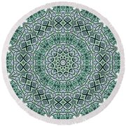 Kaleidoscope 31 Round Beach Towel