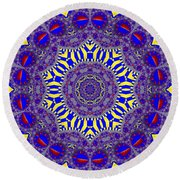 Kaleidoscope 33 Round Beach Towel