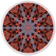 Kaleidoscope 35 Round Beach Towel