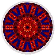 Kaleidoscope 36 Round Beach Towel