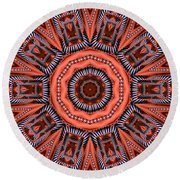 Kaleidoscope 40 Round Beach Towel