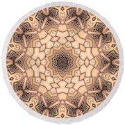 Kaleidoscope 44 Round Beach Towel