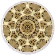 Kaleidoscope 55 Round Beach Towel
