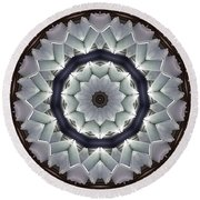 Kaleidoscope 63 Round Beach Towel