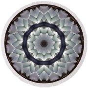 Kaleidoscope 63 Round Beach Towel