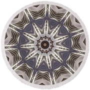 Kaleidoscope 64 Round Beach Towel