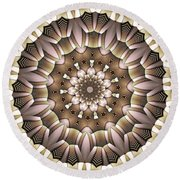 Kaleidoscope 65 Round Beach Towel