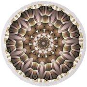 Kaleidoscope 65 Round Beach Towel