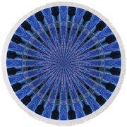 Kaleidoscopes Round Beach Towel