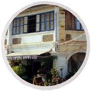 Kampot Epic Arts Cafe Round Beach Towel