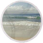 Kapalua - Aia I Laila Ke Aloha - Honokahua - Love Is There - Mau Round Beach Towel