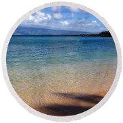 Kapalua Bay Maui Round Beach Towel