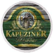 Kapuziner Round Beach Towel