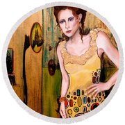 Kate Round Beach Towel