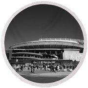 Kauffman Stadium - Kansas City Royals 2 Round Beach Towel