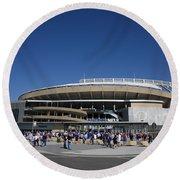 Kauffman Stadium - Kansas City Royals Round Beach Towel