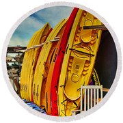 Kayaks For Rent Round Beach Towel