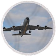 Kc135 Airforce Aircraft  Picture A Round Beach Towel