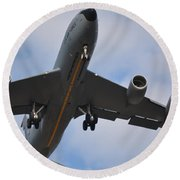 Kc135 Military Aircraft  Picture C Round Beach Towel