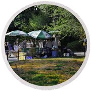 Keep Park Clean Round Beach Towel