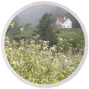 Keepers House Round Beach Towel