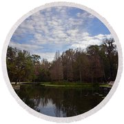 Kelly Park Springs Round Beach Towel