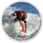 Kelly Slater World Surfing Champion Copy Round Beach Towel