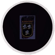 Kennedy Crest Round Beach Towel
