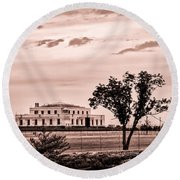 Kentucky - United States Bullion Depository Fort Knox Round Beach Towel