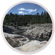 Kettle River Round Beach Towel