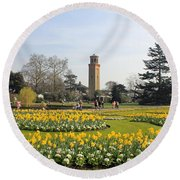 Kew Gardens London Round Beach Towel