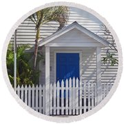 Key West Fl 43 Round Beach Towel