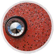 Keyhole Cover Round Beach Towel
