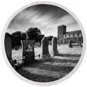 Kilmartin Parish Church Round Beach Towel