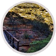 Kings Canyon V11 Round Beach Towel