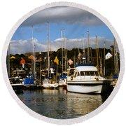 Kinsale Yacht Club Round Beach Towel