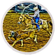 Kissimmee Roper Round Beach Towel