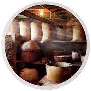 Kitchen - Storage - The Grain Cellar  Round Beach Towel