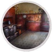 Kitchen - Storybook Cottage Kitchen Round Beach Towel