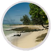 Kite Beach Kanaha Beach Maui Hawaii Round Beach Towel