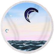 Kite Round Beach Towel