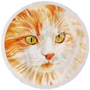 Kitty Kat Iphone Cases Smart Phones Cells And Mobile Cases Carole Spandau Cbs Art 344 Round Beach Towel