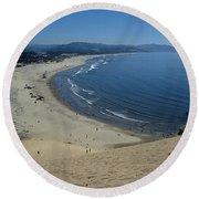 Kiwanda Beach II Round Beach Towel