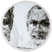 Men Of Cochin Round Beach Towel