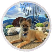 Kodi Round Beach Towel