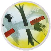 Kokan Round Beach Towel